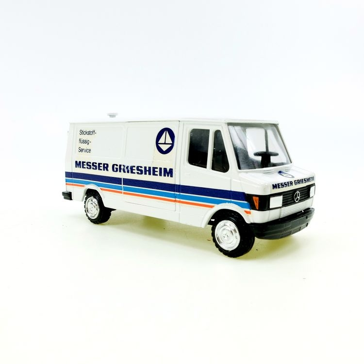 Mercedes Benz MESSER GRIESHEIM Transporter weiss