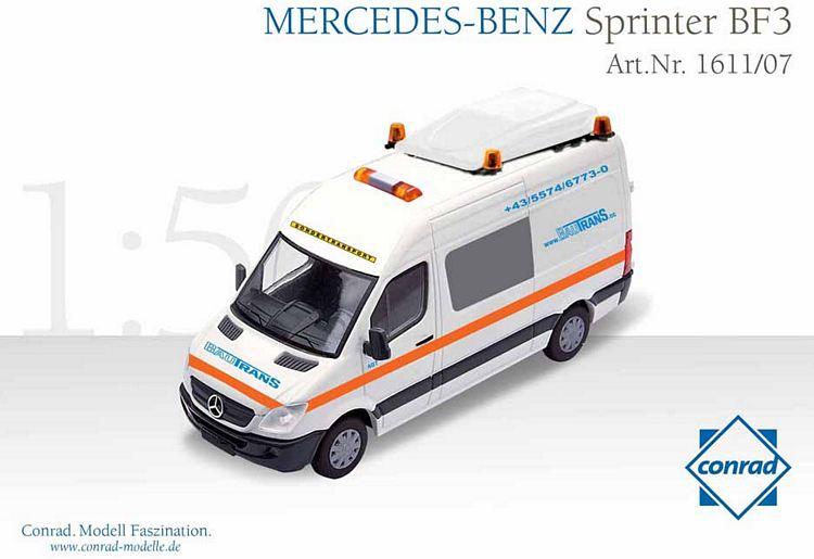 mercedes benz sprinter bf3 schwerlastverkehr bautrans. Black Bedroom Furniture Sets. Home Design Ideas
