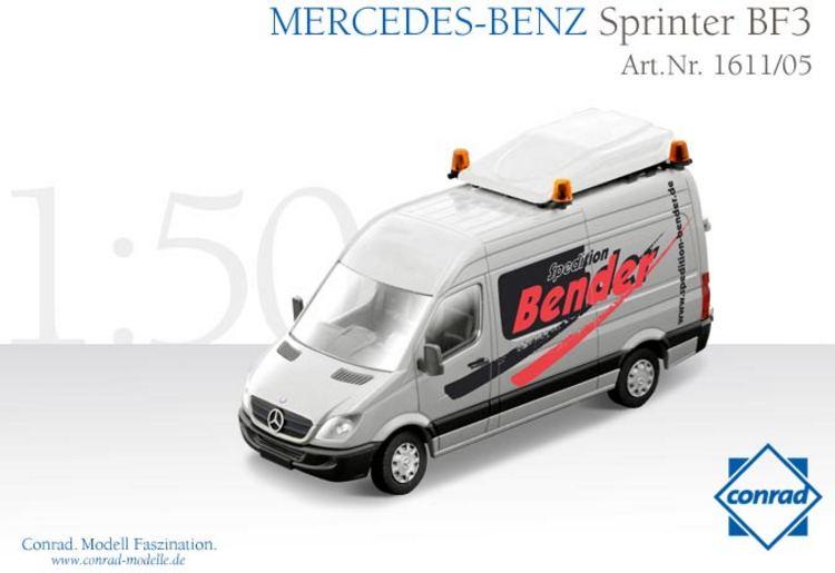 Mercedes Benz Sprinter BF3 Schwerlastverkehr Bender