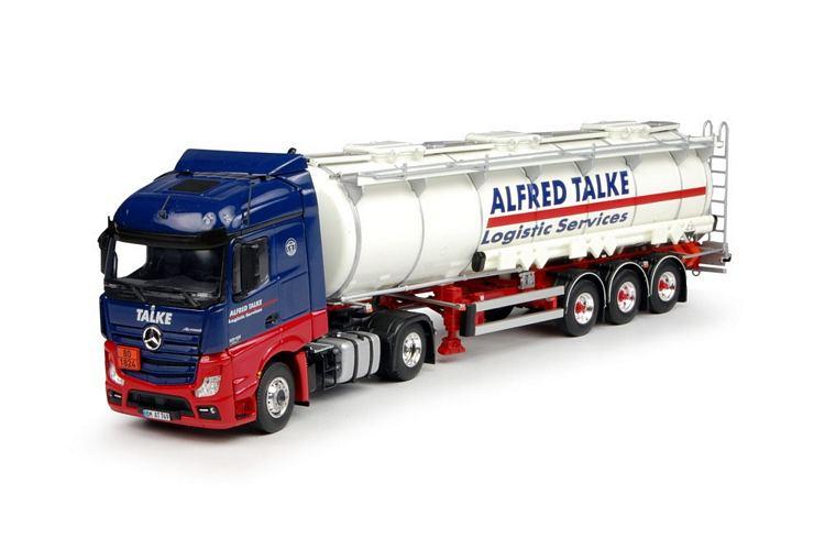 Mercedes Benz Streamspace  Tankauflieger  Talke Alfred