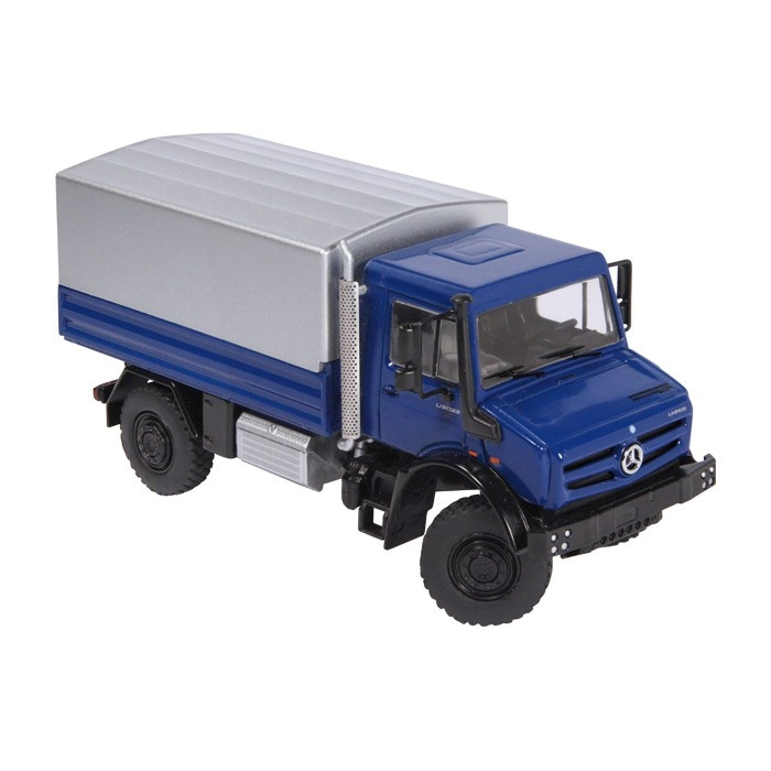 Mercedes Benz Unimog U 5000 Plane blue