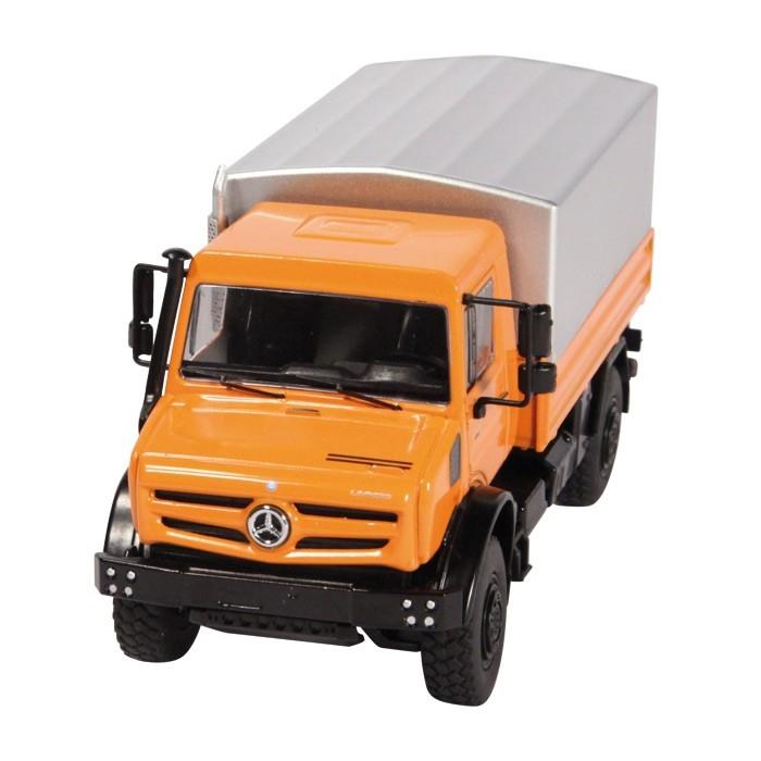 Mercedes Benz Unimog U 5000 Plane orange