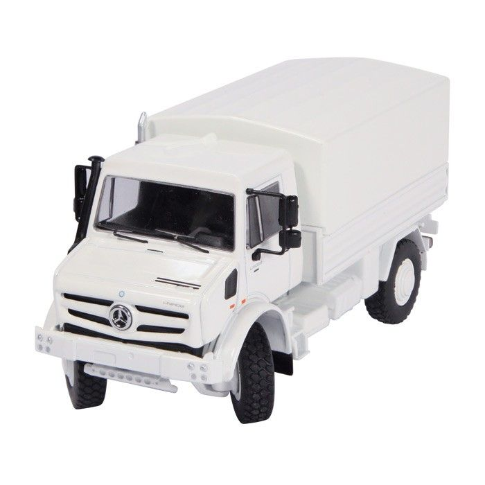 Mercedes Benz Unimog U 5000  white