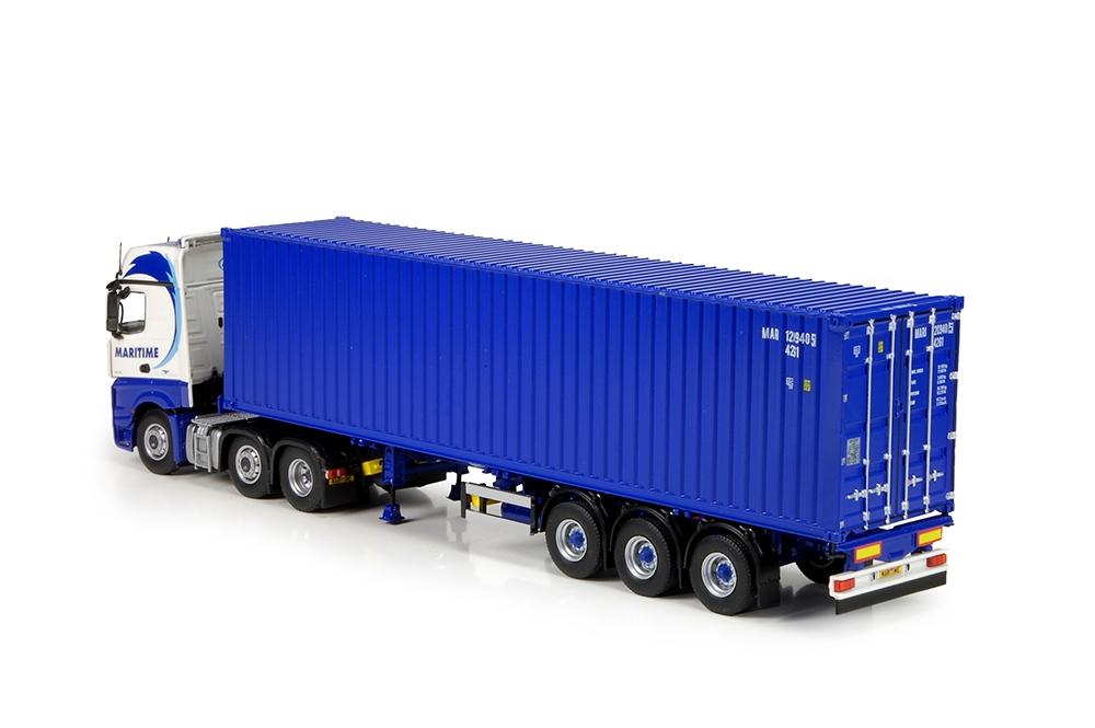 Mercedes Bigspace container auflieger Maritime