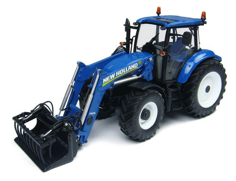 New Holland T5.115  740TL front loader