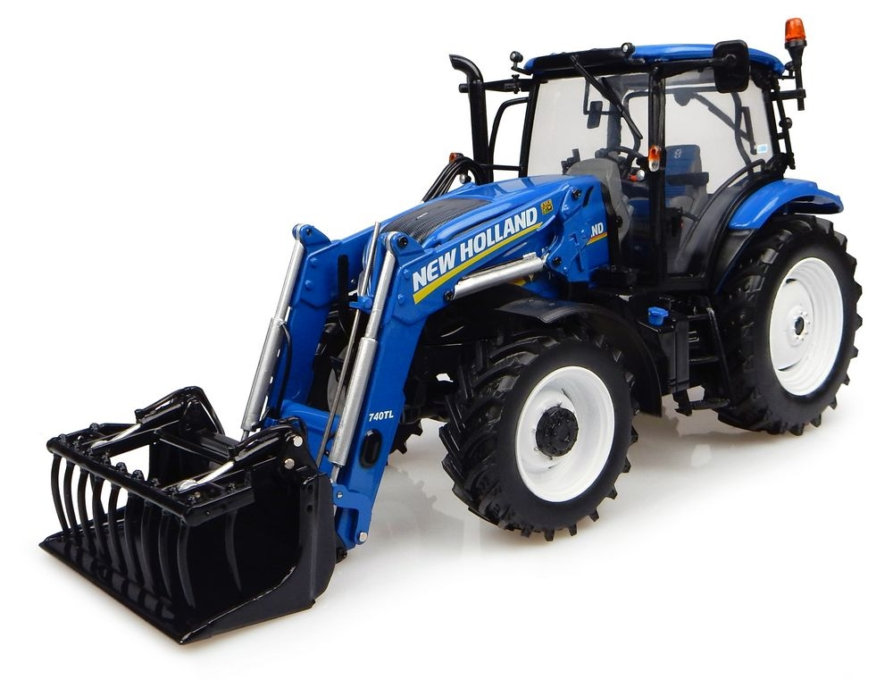 New Holland T6.145  740TL frontloader