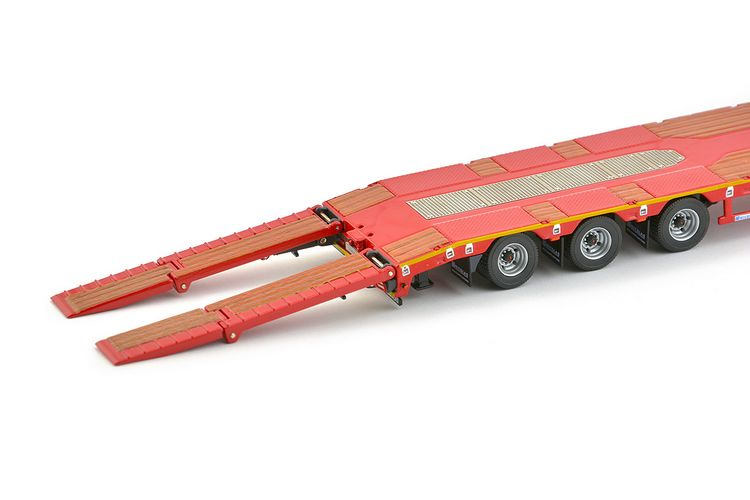 Nicolas EuroFlex 3 axle semi low loader Premium Series