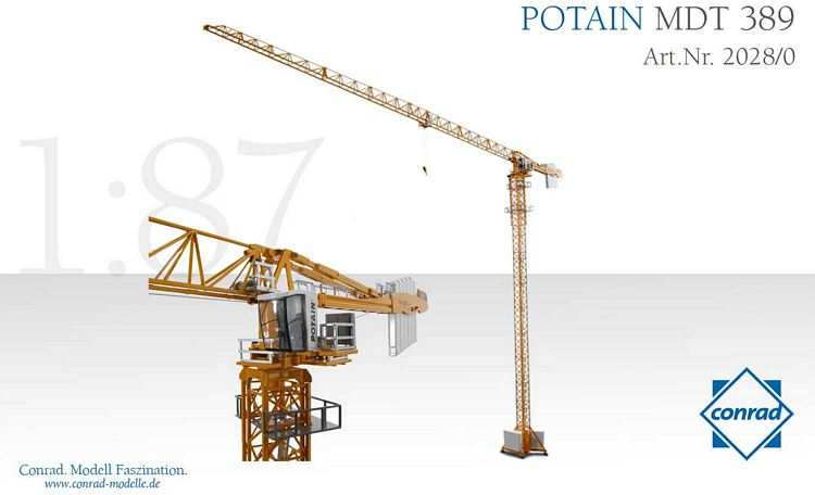 POTAIN Turmdrehkran MDT 389