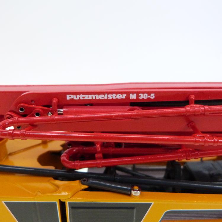 Putzmeister M38 5RZ Betonpumpe MB Arocs