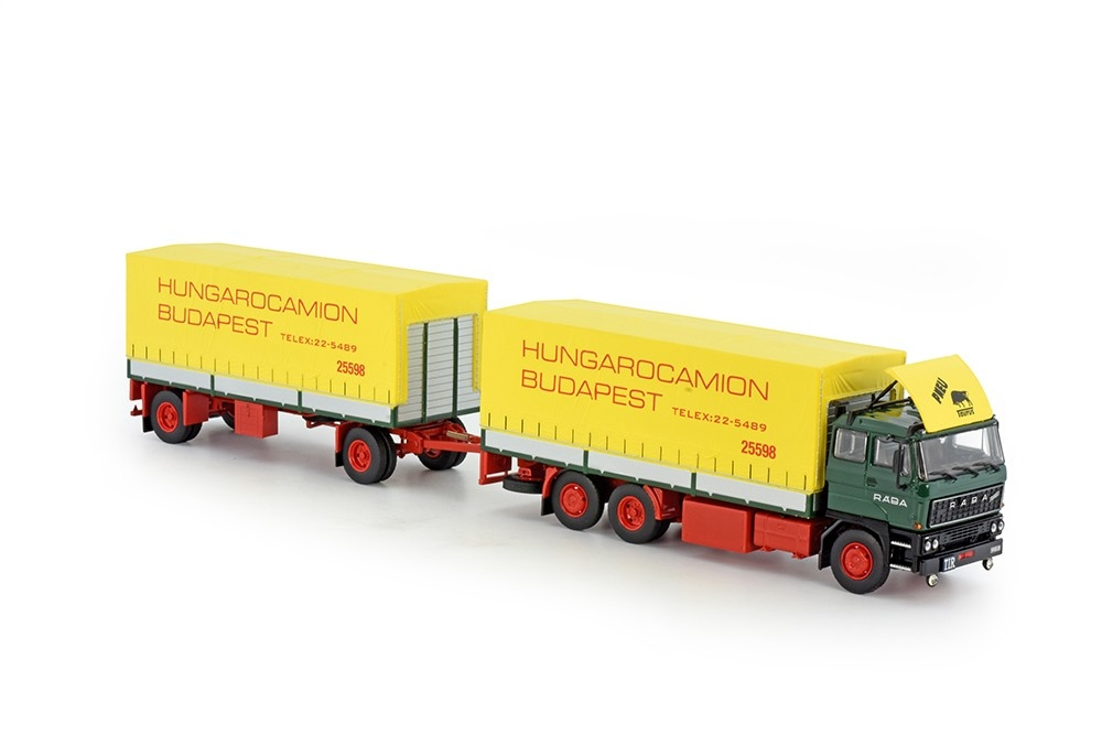 Raba 3-Achse Motorwagen anhanger Hungarocamion