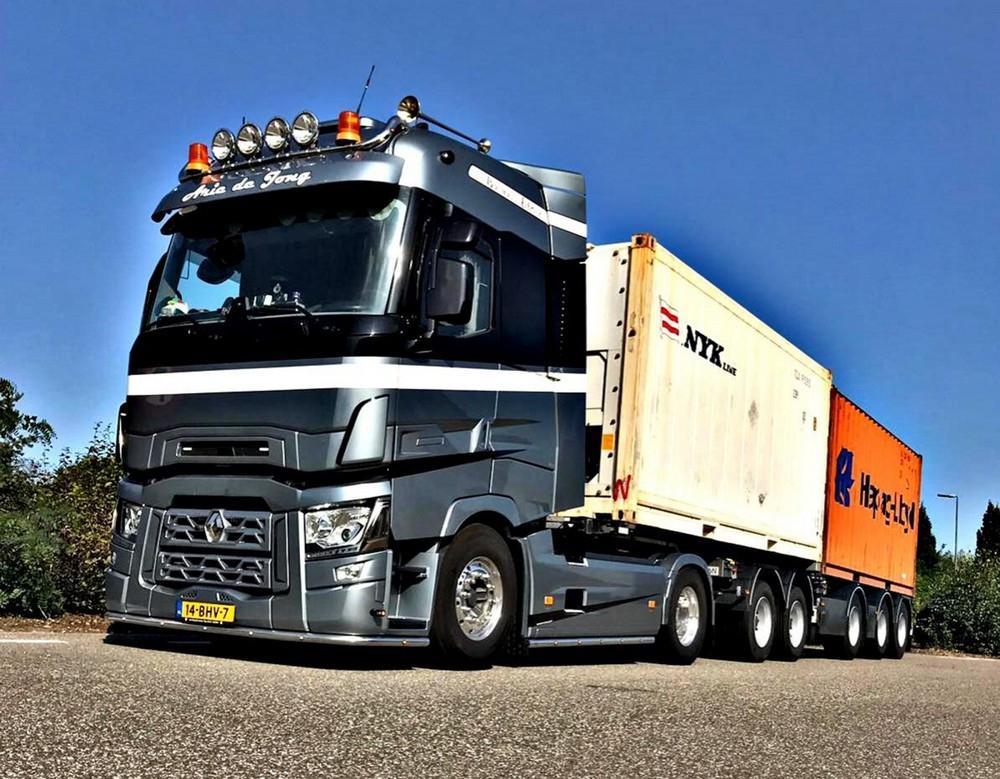 Renault Trucks T High 2Connect Combi  Arie de Jong