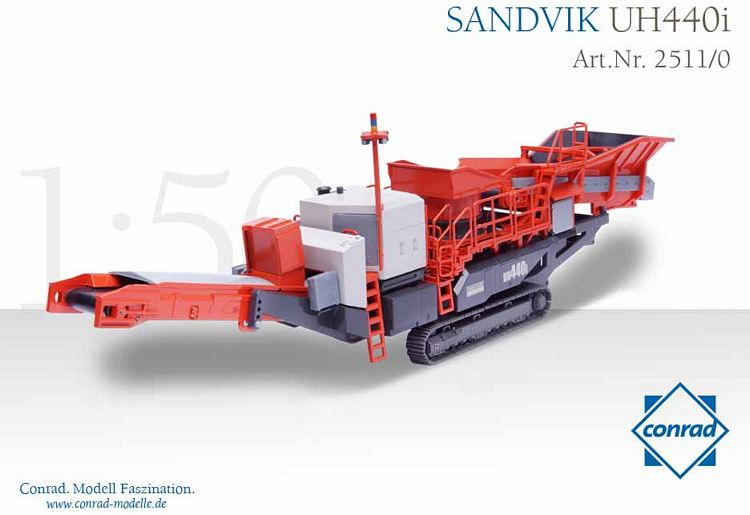 Sandvik UH440i Mobile Brecheranlage