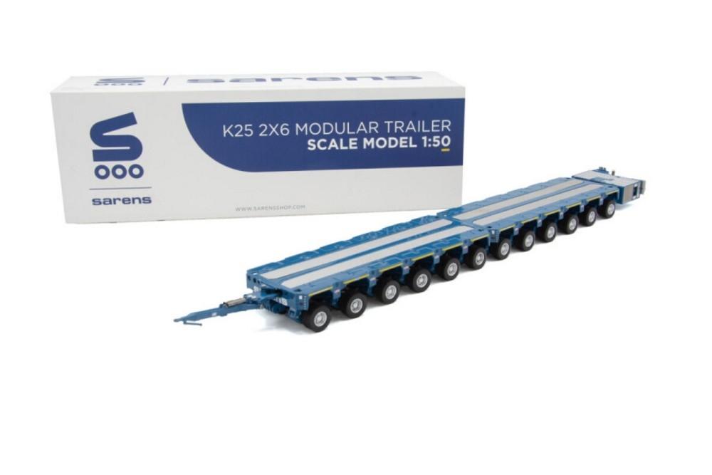 Sarens K25 2 x 6 Liner  Drawbar + PPU