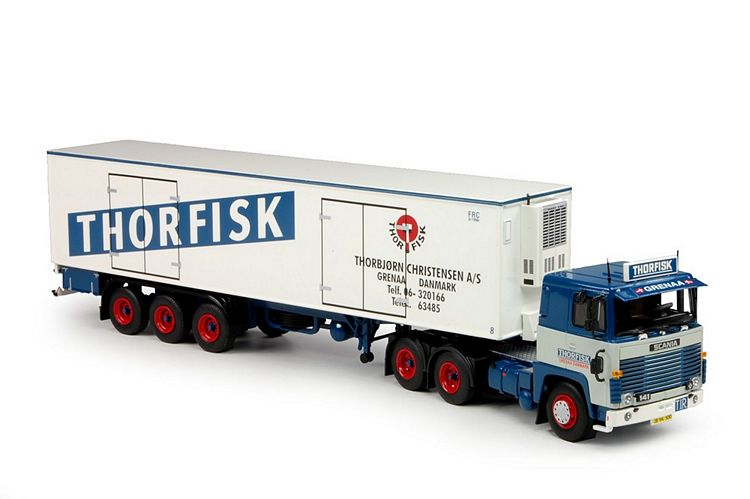 Scania 1-serie Klassik Kuhlauflieger Thorfisk