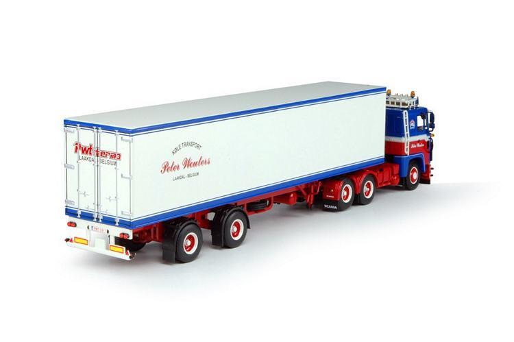 Scania 1-serie Klassik Kuhlauflieger Wouters Peter