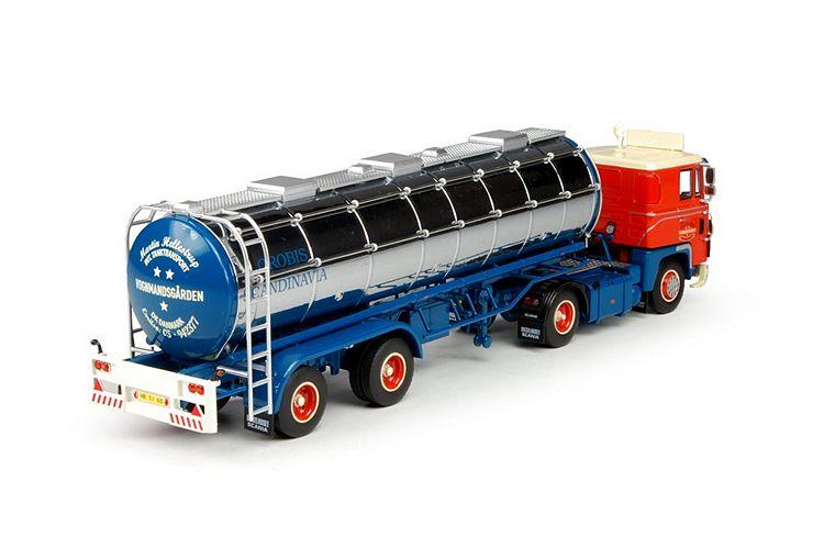 Scania 1-serie Klassik Tankauflieger Hellestrup Martin