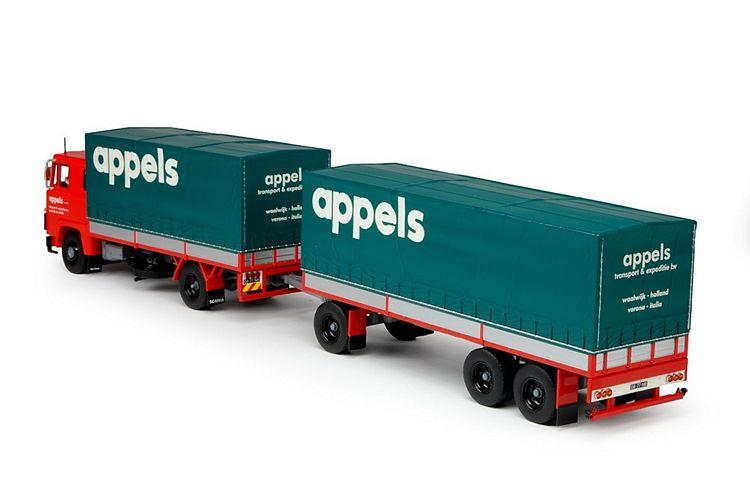 Scania 1-serie Motorwagen anhanger Appels