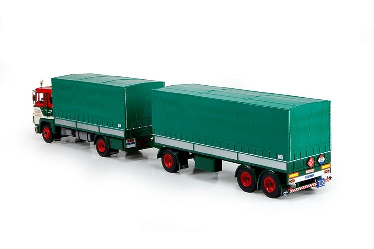 Scania 110 Super  Anhaenger Kogge