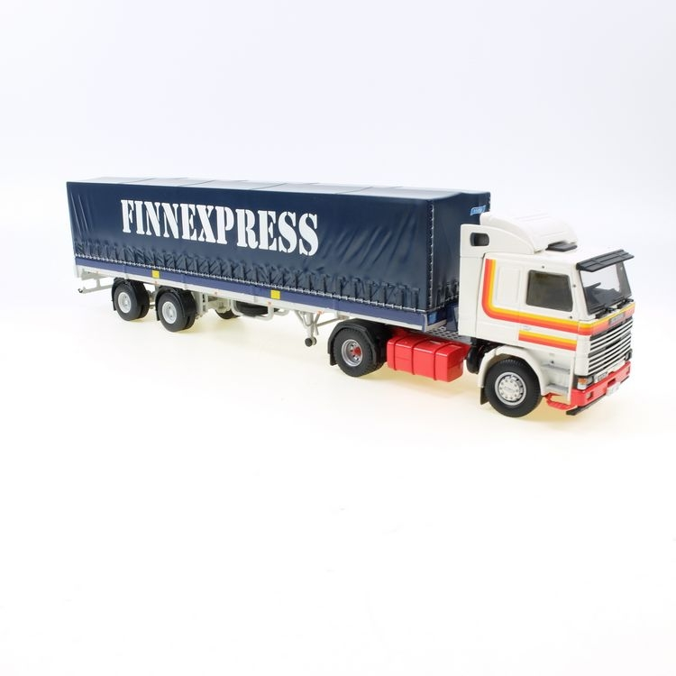 Scania 112 2 achs auflieger Finexpress