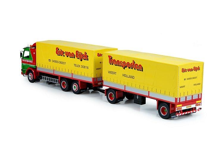 Scania 112M Kombi Anhaenger Eijck Transport