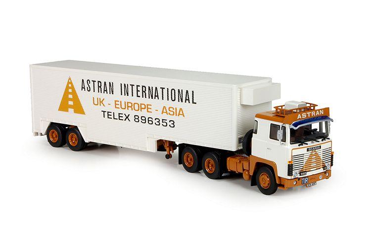 Scania 140  Fruehauf trailer Astran
