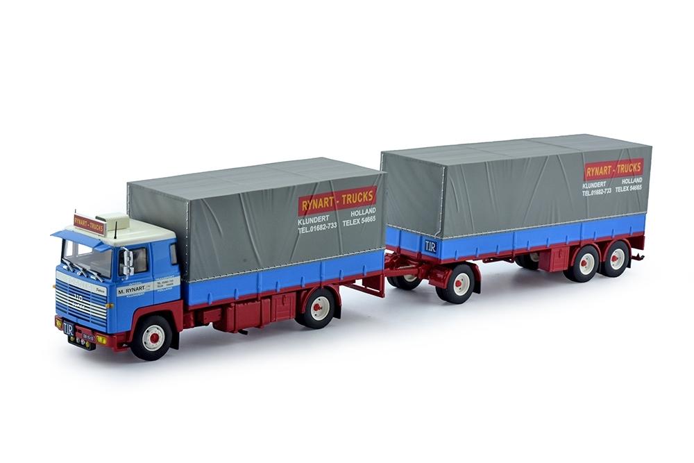 Scania 140  Kombi anhaenger Rynart