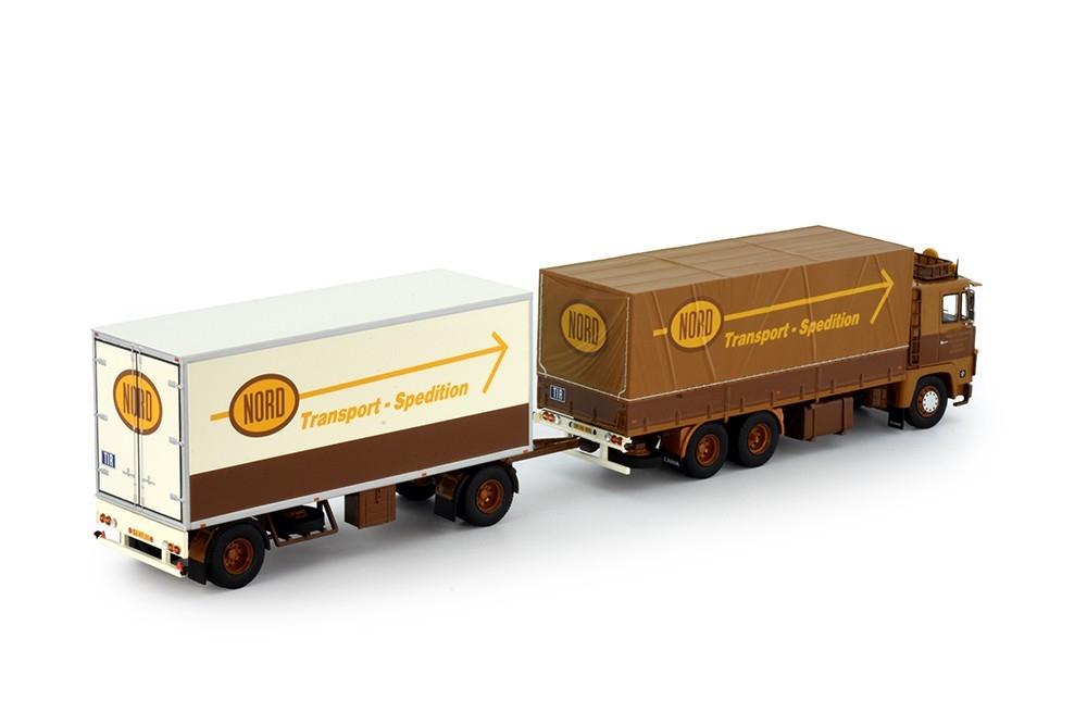 Scania 141 LKW Combi  Anhänger Nord