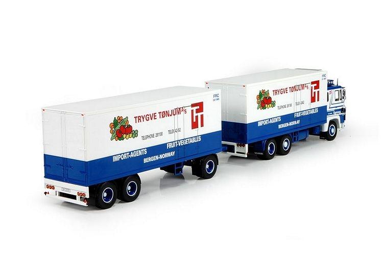 Scania 141 rigid truck trailer Langtransport