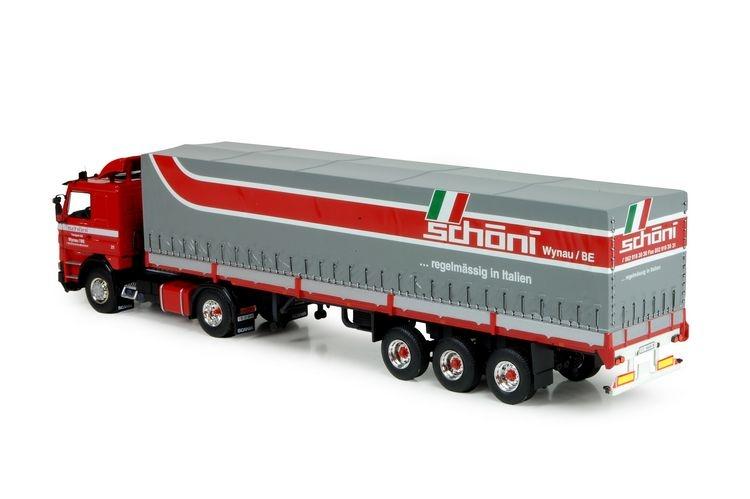 Scania 142  3 Achs Kippanhaenger Schoni