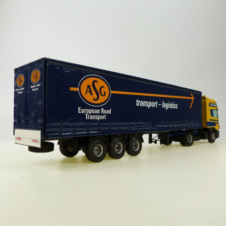 Scania 142L/460 Auflieger ASG