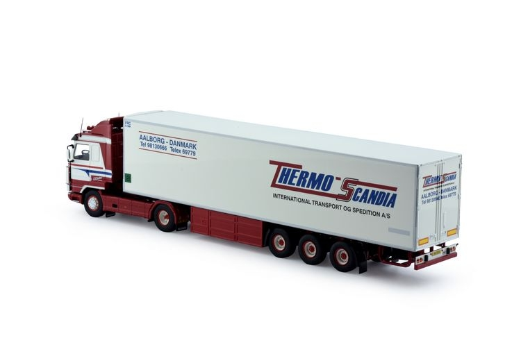Scania 143 Streamline  Kuehlauflieger Thermo Scandia