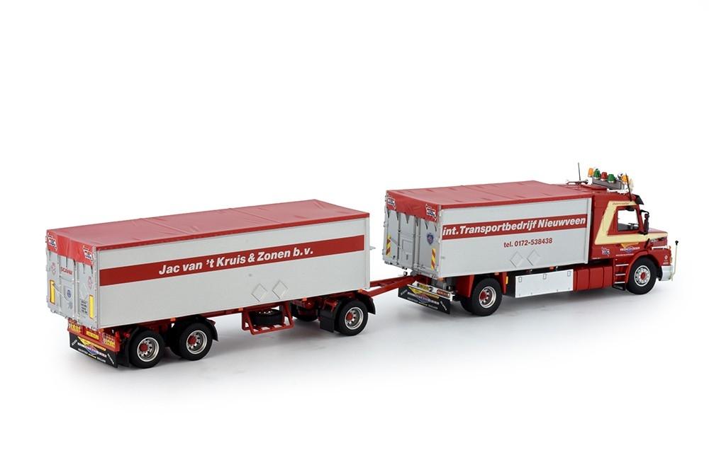 Scania 143m Kipper Änhanger Kruis Jaco van t