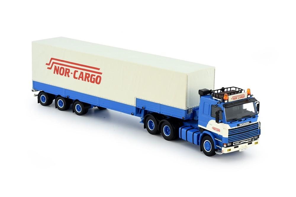 Scania 2 serie klassischem auflieger Nor Cargo