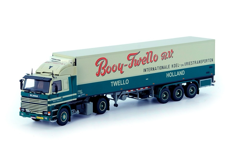 Scania 2 Serie Kuehlkoffer auflieger Booy Twello B.V.