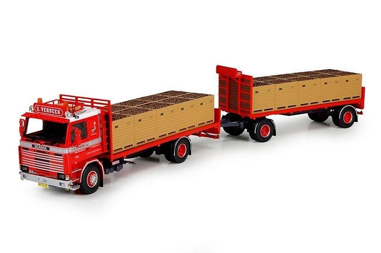 Scania 2 serie Motorwagen anhanger ladegut Verbeek S