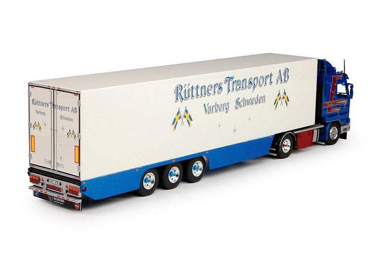 Scania 3-Serie Kuehlauflieger Ruttner Transport