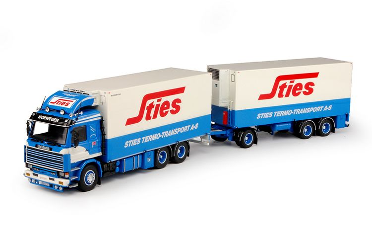 Scania 3 serie rigid truck trailer Sties