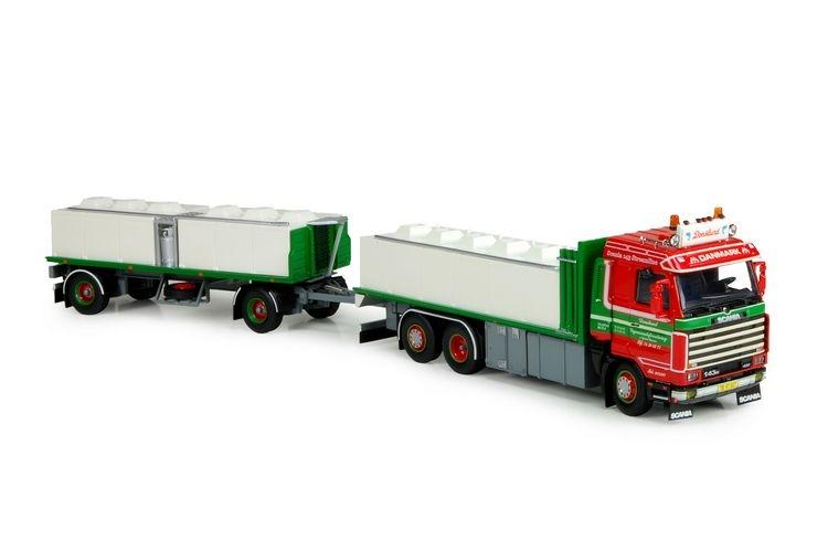 Scania 3 serie Streamline Fischtransport  Donslund