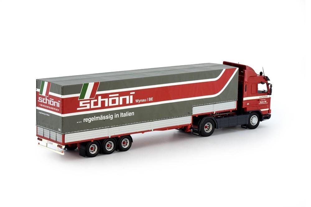 Scania 3-serie Streamline klassischer  Anhänger Schoni