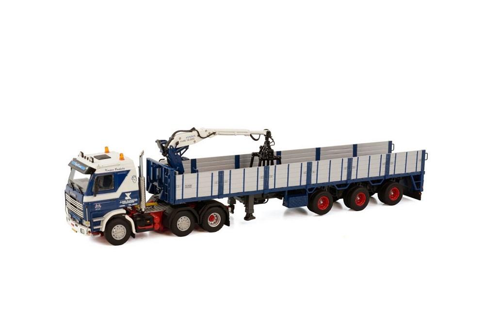 Scania 3 Series  Brick Trailer  J. van Klooster