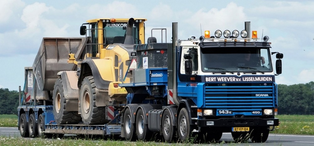 Scania 3 Series  Low Loader  Weever