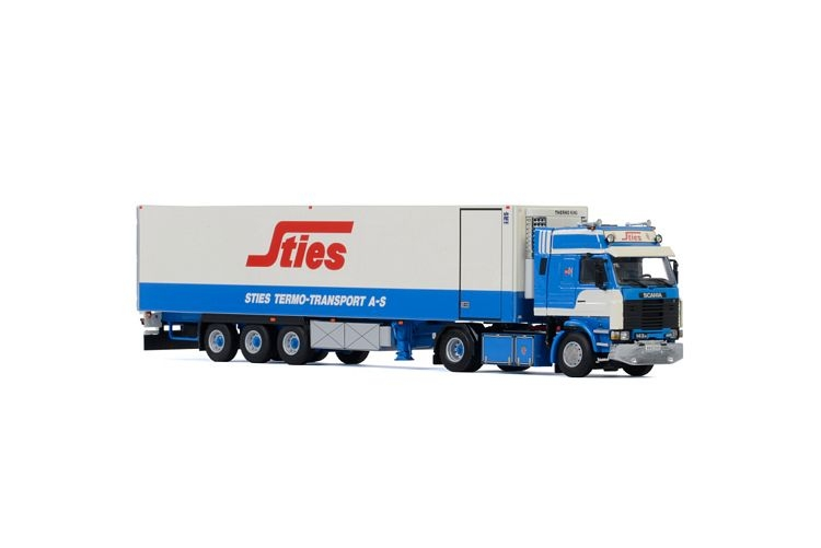 Scania 3 Series  Reefer Trailer classic  Sties