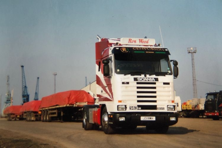 Scania 3 Series Streamline Flat Bed  Ron Wood