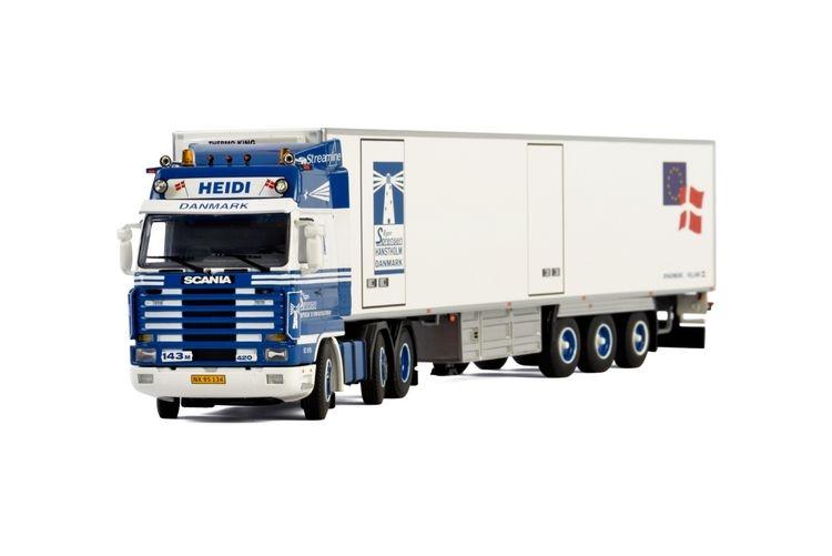 Scania 3 Series Streamline Kuehlauflieger Egon Sorensen