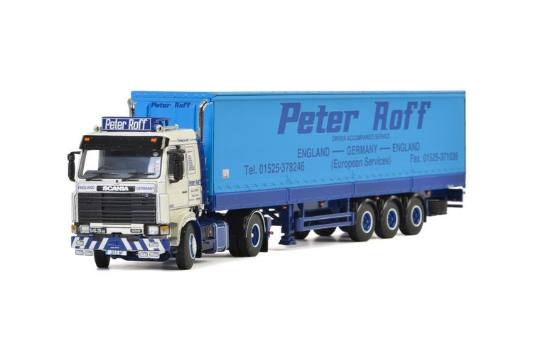 Scania 3 Series Tautliner 3 Axle Peter Roff