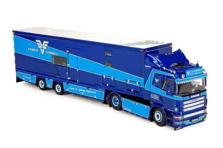 Scania 4-Serie Camper Anhaenger Resin  Verweij JJ