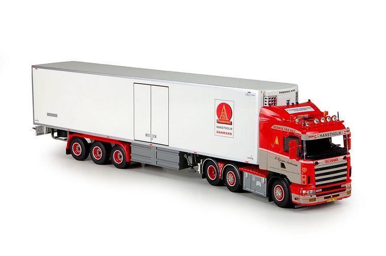 Scania 4 serie Kuehlauflieger Andersen Bjarne