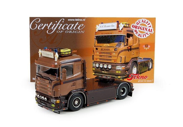 Scania 4 serie  N.A. Bloemen Line