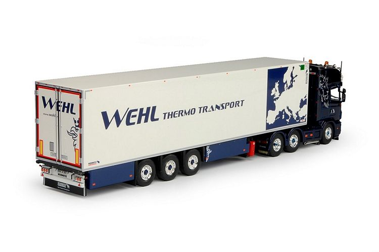 Scania 4 serie Topline Kühlauflieger Wehl