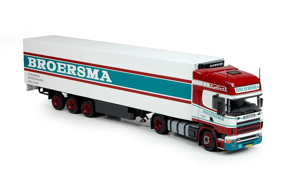 Scania 4 serie Topline Kuehlauflieger Broersma